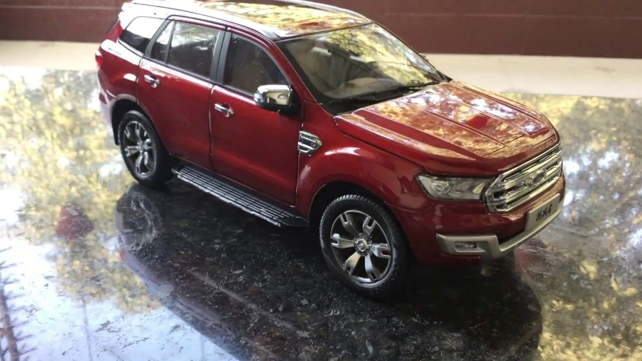 Unboxing Of 2016 Ford Endeavour Everest Scale Model Toy