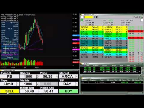 Live Stock Trading -  $540 in 90 Minutes