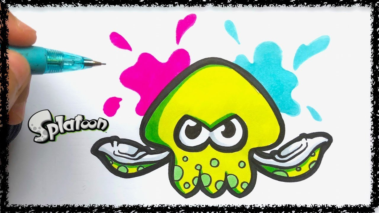 Draw Splatoon