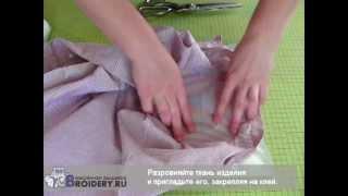 Как запяливать отрывной неклеевой стабилизатор