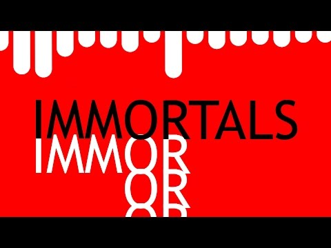 Fall Out Boy- Immortals (Malcom Remix)- Kinetic Typography Music video