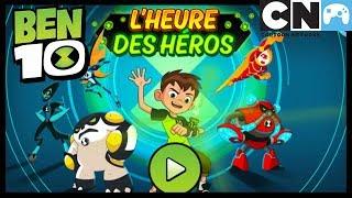 Ben 10 Jeux - L'heure des héros | Ben 10 Français | Cartoon Network