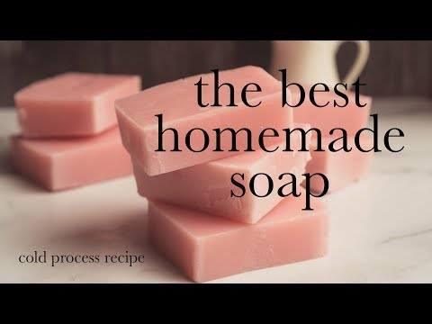 The Best Cold Process Soap Recipe (extra Moisture And Lots Of Lather)