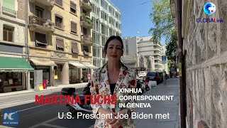GLOBALink | How do Geneva residents feel about Biden-Putin summit?