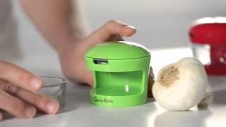 Slice and Dice Garlic Presses