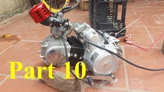 Homemade Lamborghini car part 10 - 125cc engine