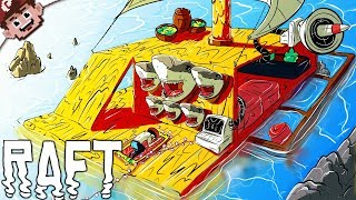 All Hail The Offensive Sharks! | GaLm Loses His Mind (RAFT Multiplayer)