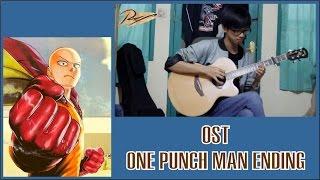 One Punch Man ED - Hoshi Yori Saki Ni Mitsukete Ageru (Guitar Cover)