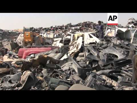 Recycling company finds use for UAE's abandoned cars