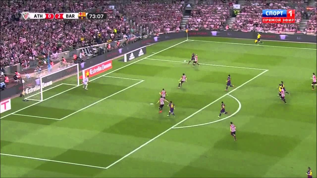 Смотреть футбол кубок испании барселона атлетик бильбао