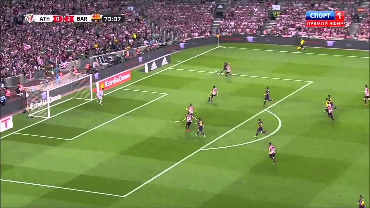 Футбол кубок испании атлетик бильбао барселона видео обзор