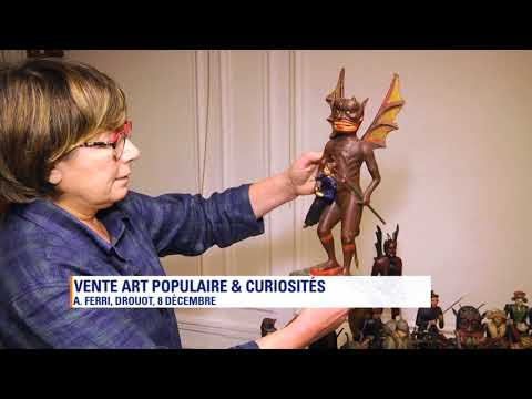 L'art populaire aux enchères à Drouot le 08 décembre
