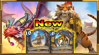 Hearthstone: Huge Dragon Highlander Purifier Paladin With Nozdormu and Double Alexstraza | New Decks