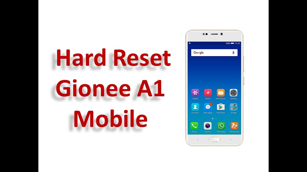 Gionee A1 Hard Reset - Gionee A1 Factory Reset - Gionee A1 Recovery Mode