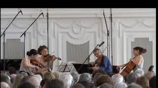 Hegel Quartett Plays Schubert G Major  II  Andante un poco mosso