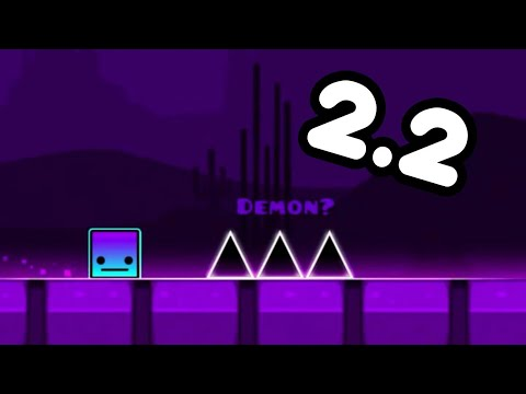 GEOMETRY DASH 2.2 NEW FUNCTION REVIEW (Camera Control + Free
