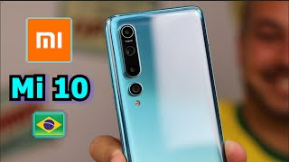 Xiaomi Mi 10 Global - Ele Chegooouuu!!! Unboxing e Review Inicial Português Brasil