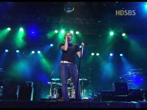 Forgotten Live in Korea (without piano) - Avril Lavigne