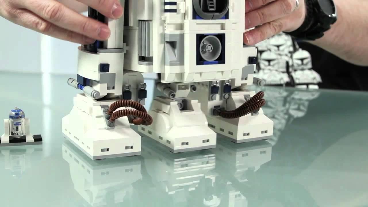 Lego r2 d2 10225 youtube - Lego starwars r2d2 ...