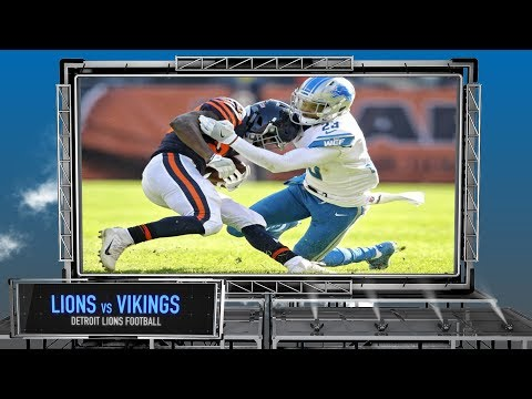 Detroit Lions vs. Minnesota Vikings - Detroit Lions Preview Show Thanksgiving Edition