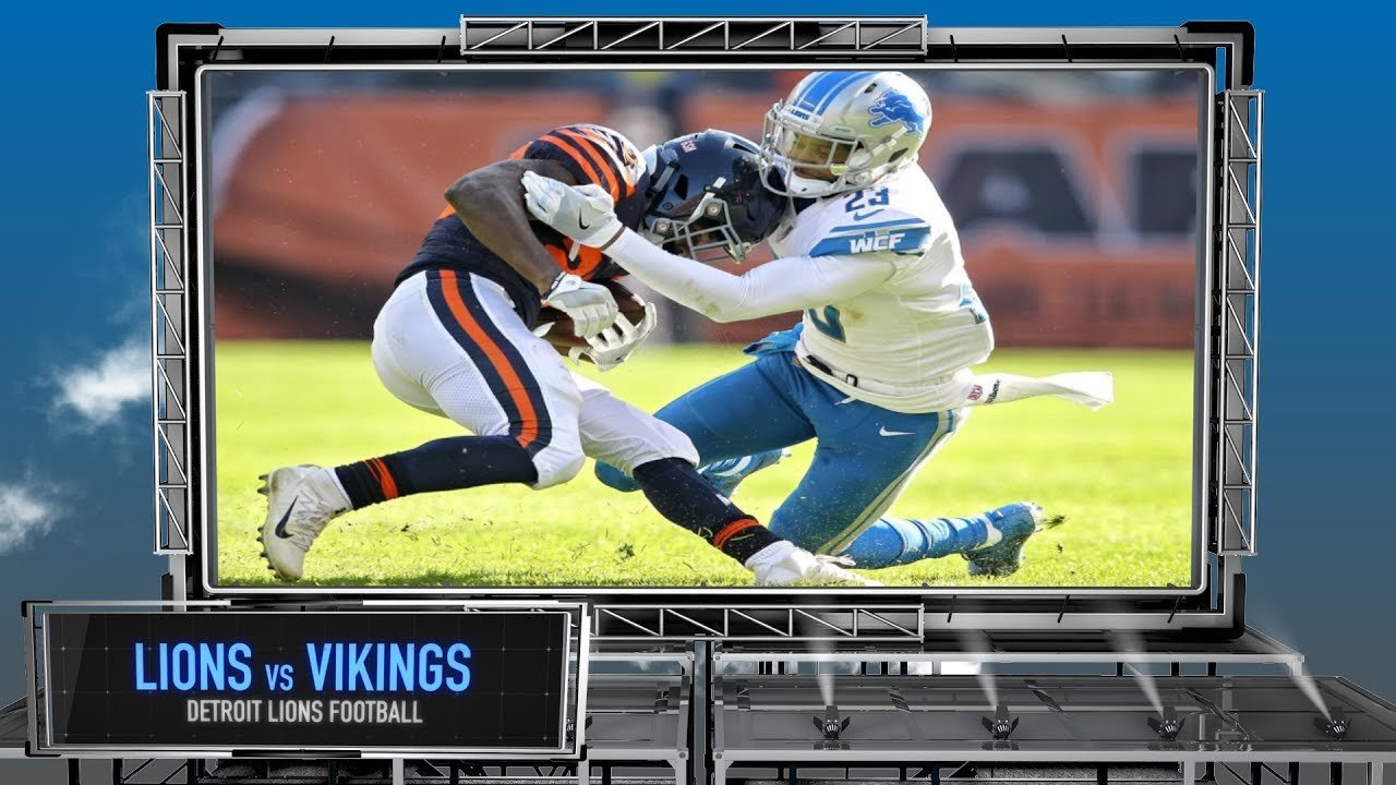 f462a712 Detroit Lions vs. Minnesota Vikings - Detroit Lions Preview Show  Thanksgiving Edition