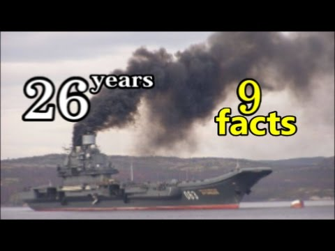 """9 Intriguing Facts About The """"Admiral Kuznetsov"""" (063) Aircraft Carrier."""