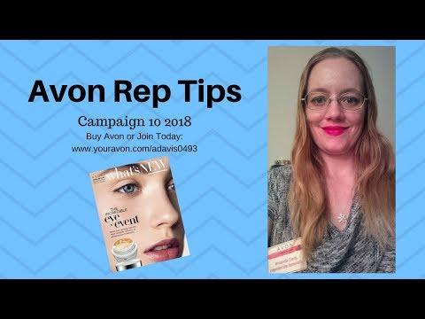 Avon Representative Tips Campaign 10 2018