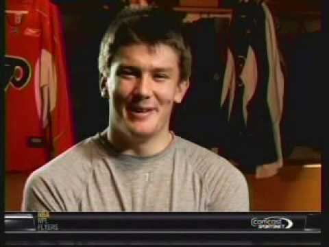 Philadelphia Flyers JVR James Van Riemsdyk Development Interview