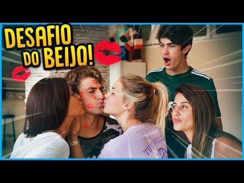 1 VS TODOS - DESAFIO DO BEIJO MAIS DÍFICIL!! [ REZENDE EVIL ]