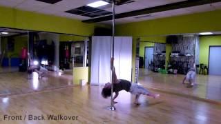 Pole Dance - Front / Back Walkover Variation Vol. 5.8