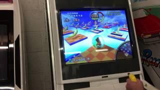 Sega Monkeyball (arcade) running on Naomi hardware - Novice + Extra Stages