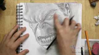 How to Draw the Hulk (The Avengers)