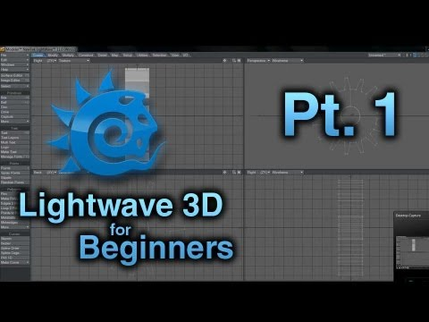 Lightwave 3D for Beginners / Pt. 1 / Modeler Interface Overview