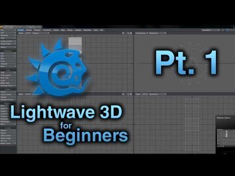 lightwave 3d for beginners pt 1 modeler interface overview rh youtube com