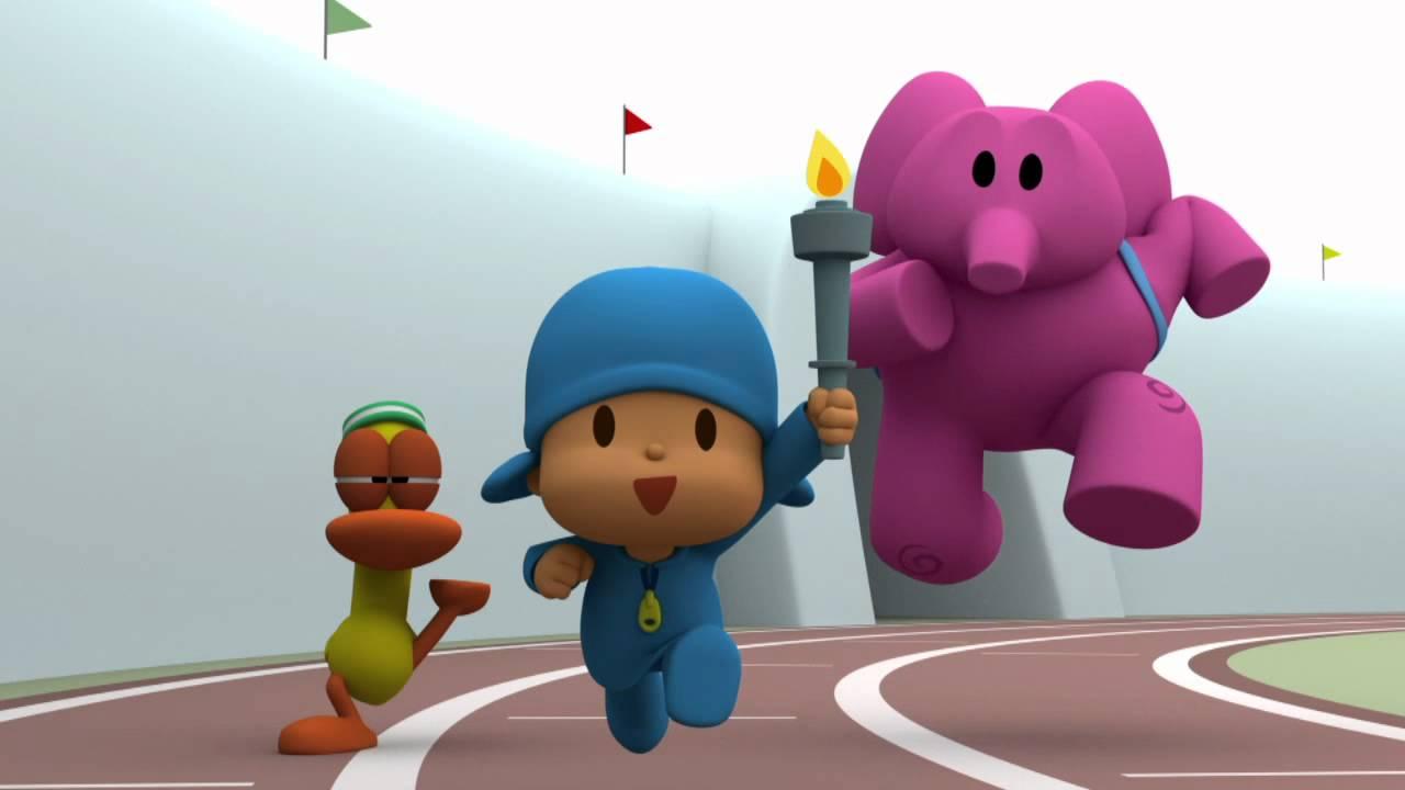 Resultado de imagen de pocoyo olympic games 2012