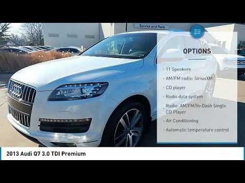 2013 Audi Q7 Oklahoma City OK, Norman OK, Edmond OK, Moore OK JC545828A