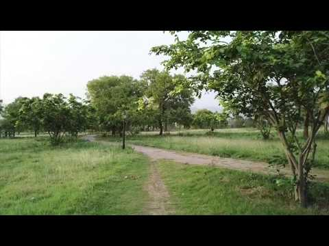 Islamabad the Beautiful Drone Flying Over F-9 Park