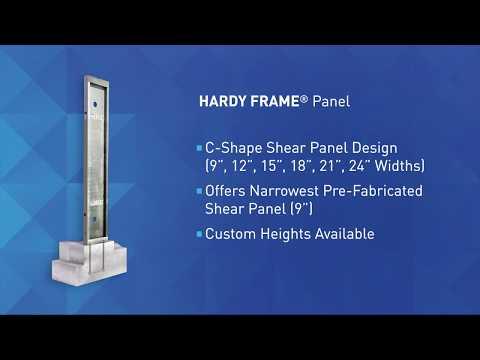 MiTek Hardy Frame Products - Hardy Frame Panel