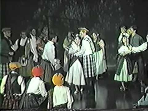 Theatre Xavier, Brigadoon, Spring 1989