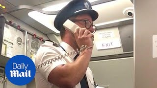 Hero BA captain addresses passengers after emergency landing - Daily Mail