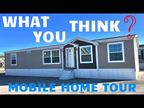 Inside A Lovely 1800 Sqft Double Wide Mobile Home! Mobile Home Tour