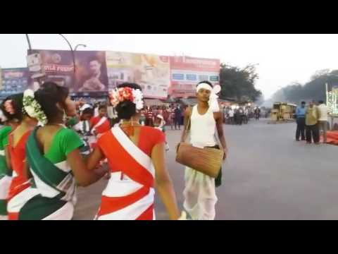 Birsa Jayanti - Jharkhand Sthapna diwas Tribal adiwasi folk song and Dance 15th Novenber
