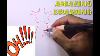 Amazing Drawing | How dirty is your mind drawings | Funny drawing 11