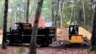 John Deere track loaders and compact excavators
