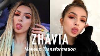 ZHAVIA MAKEUP TRANSFORMATION