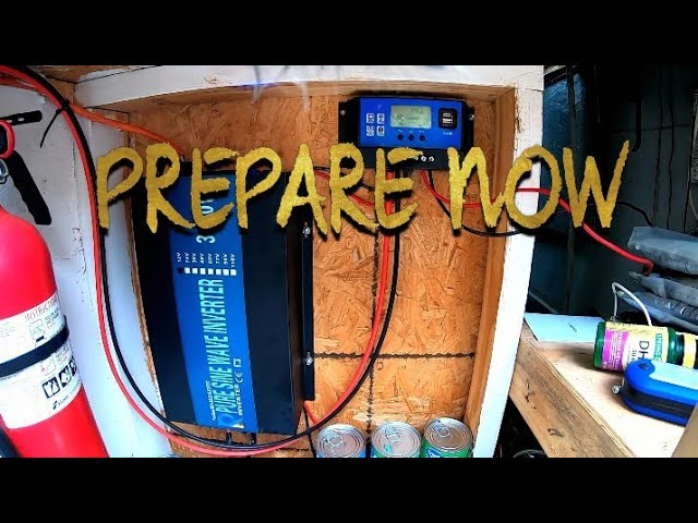 Prepare Now Before The Power Goes Out