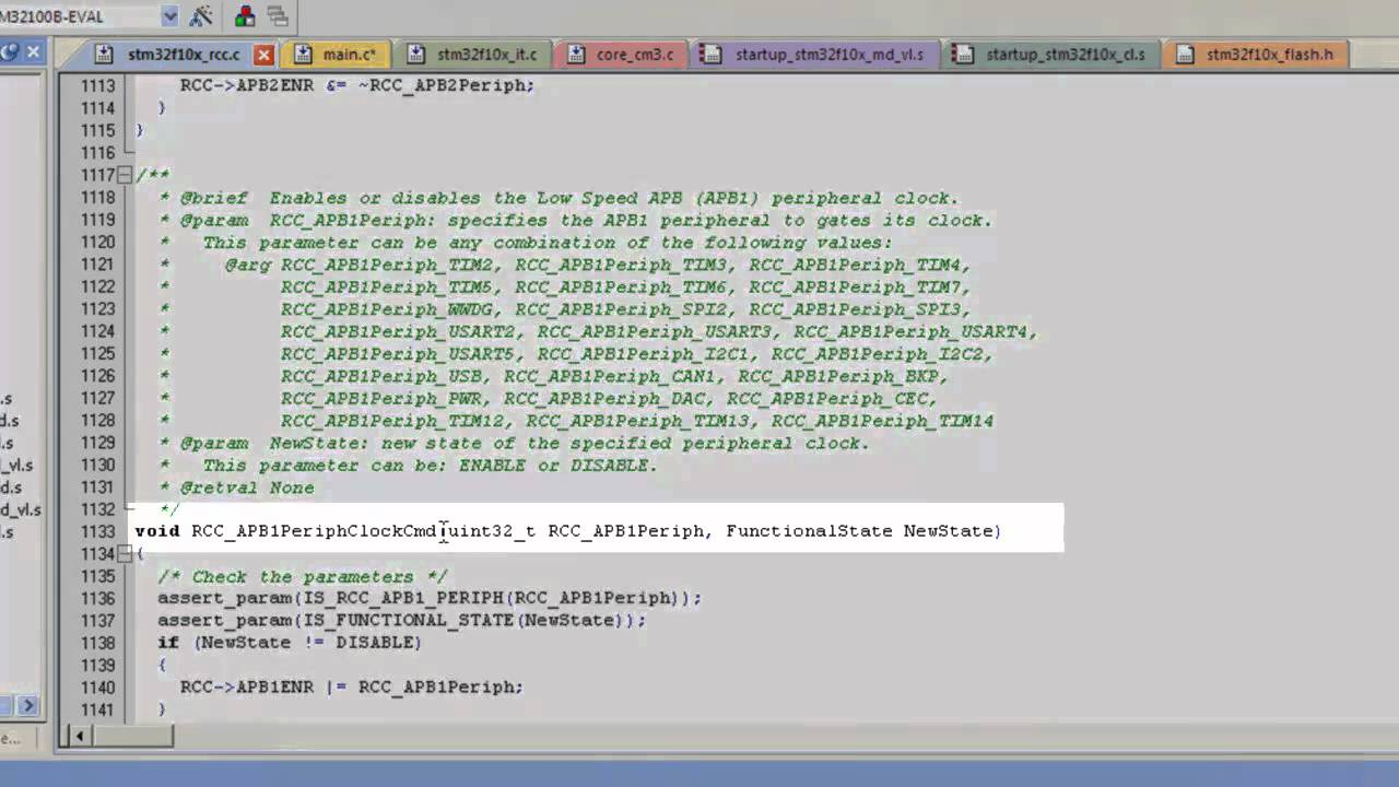 STM32 Real-Time Clock Control (RCC) and GPIO in C Programming part 2 of 3  (Thai Explanation)