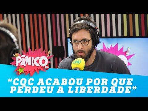 """""""CQC acabou por que perdeu a liberdade"""", critica Rafinha Bastos"""