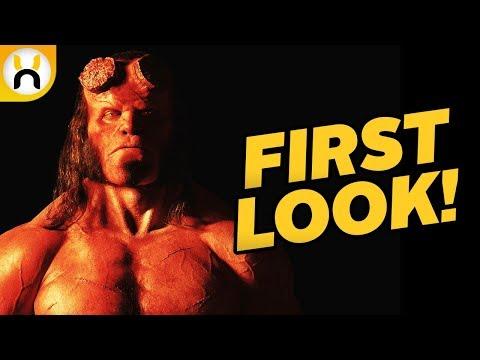Hellboy Reboot FIRST LOOK at David Harbour's Hellboy