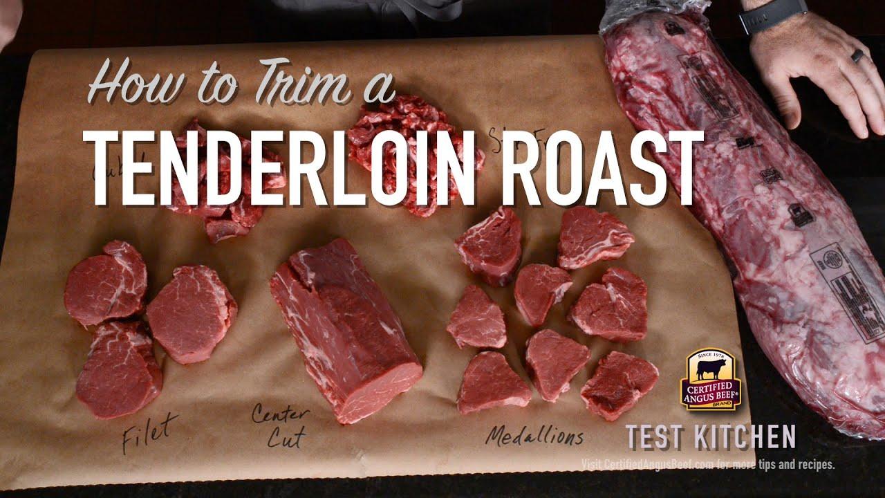 Download How to Trim a Tenderloin Roast